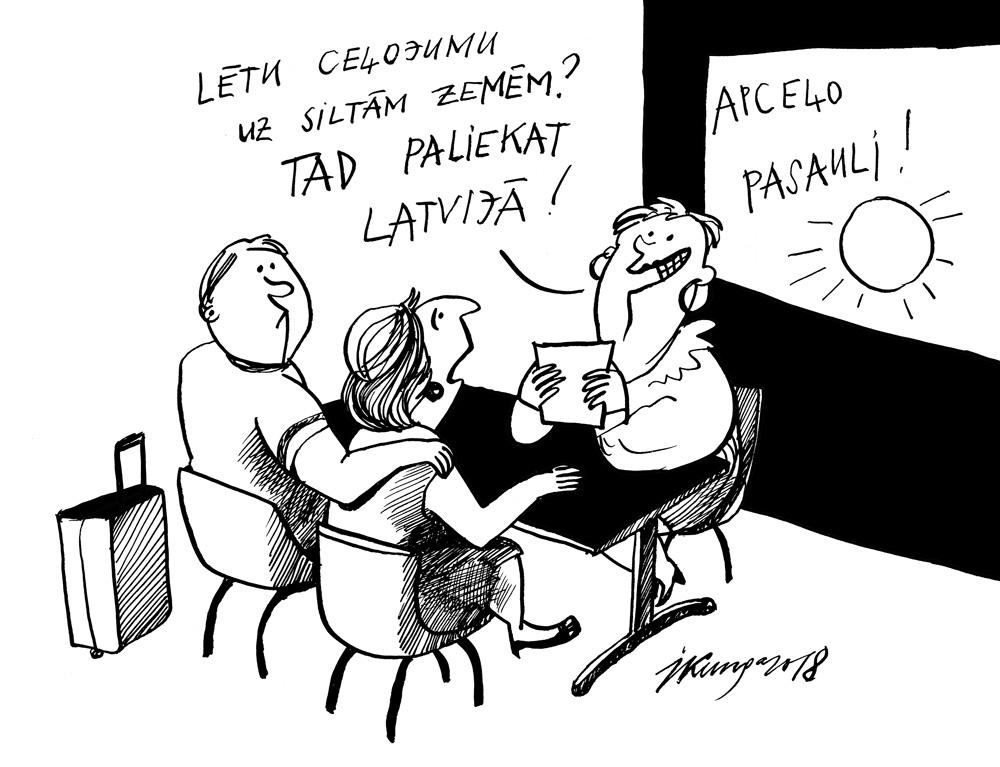 25-07-2018 Latvijā kļūst arvien siltāks!