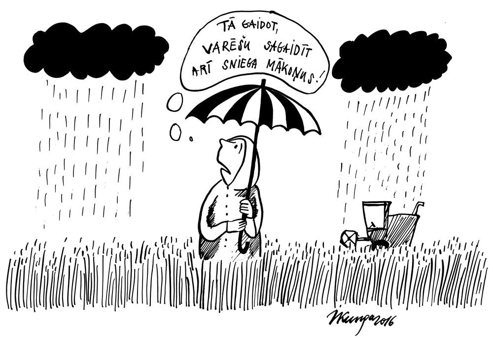 25-08-2016 — Līst lietus, un labību novākt nevar.