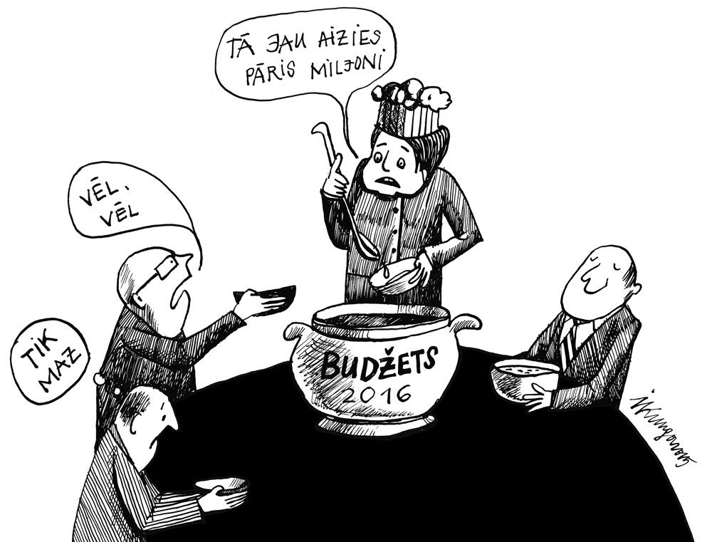25-11-2015 — Sāk dalīt naudu deputātu pieprasījumiem nākamā gada budžetā.