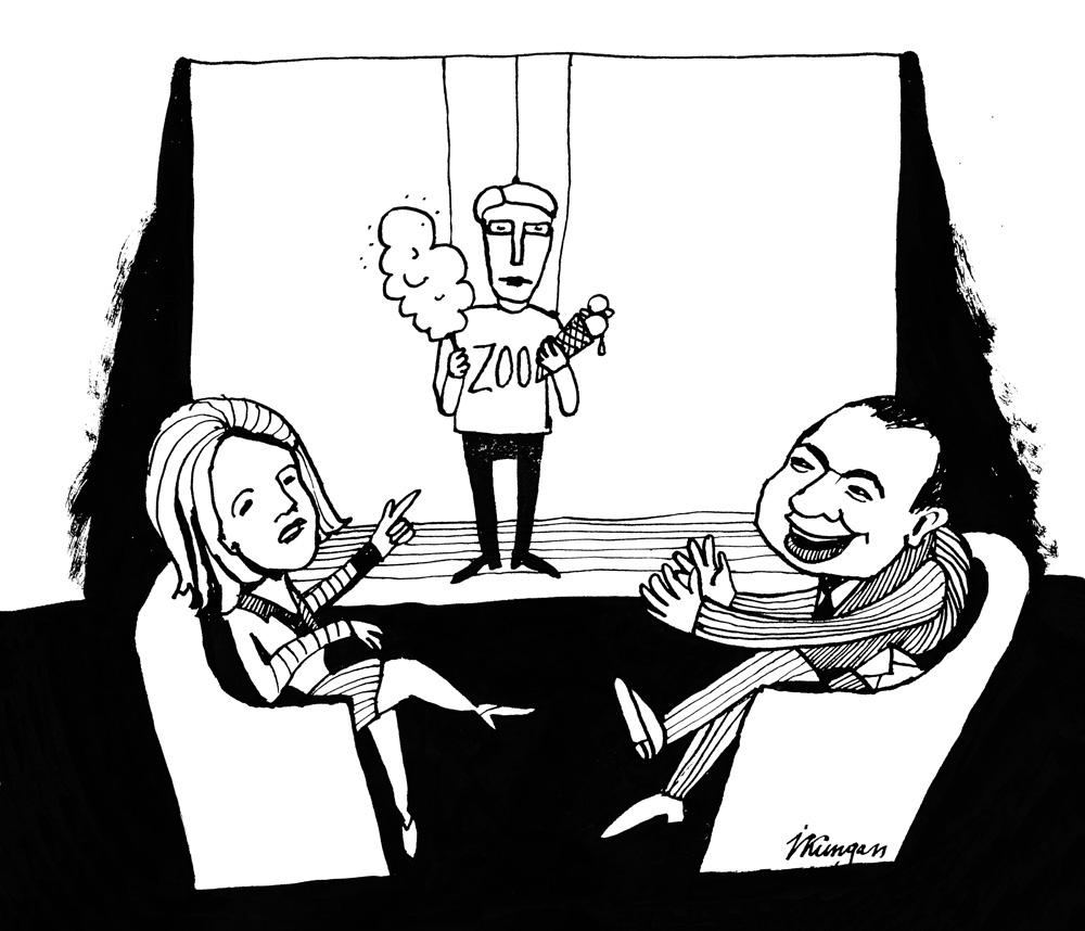 26-01-2011 Āboltiņa : – Man nepatīk aktieri no Zoodārza! Lembergs: – Es gan šo aktieri varētu nākamos 4 gadus skatīties!