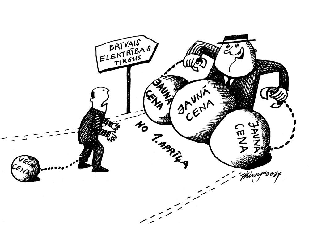 26-02-2014 — Es esmu trūcīgs! — Tāds ir Latvijas brīvais elektrības tirgus, par trūcīgajiem neko nezinu.