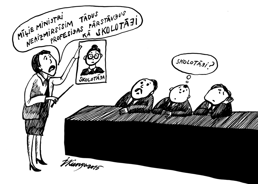 26-08-2015 — Vai būs kādas izmaiņas skolotāju algu sistēmā? Valdība klusē.