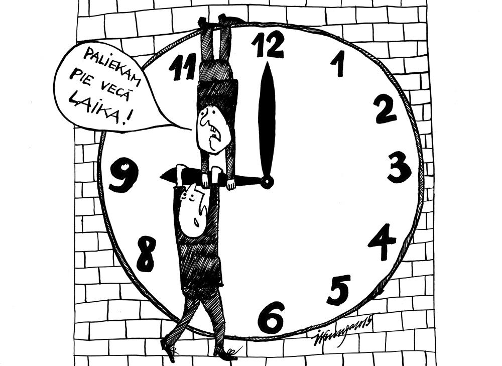 26-10-2015 Laika mainīšana — varbūt atteikties no pulksteņa grozīšanas?