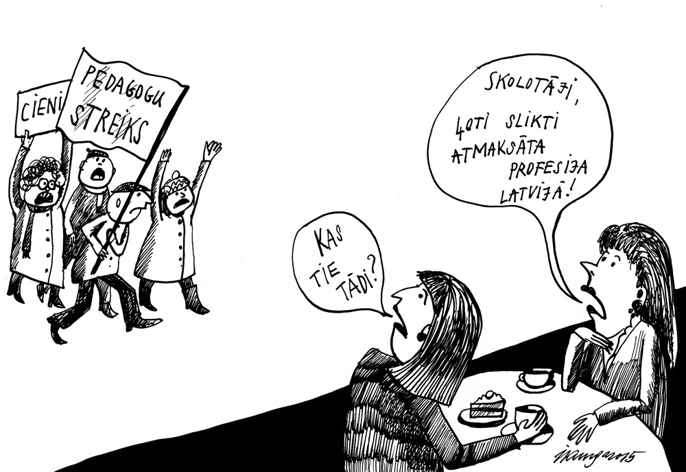 26-11-2015 — Skolotāju streiks.