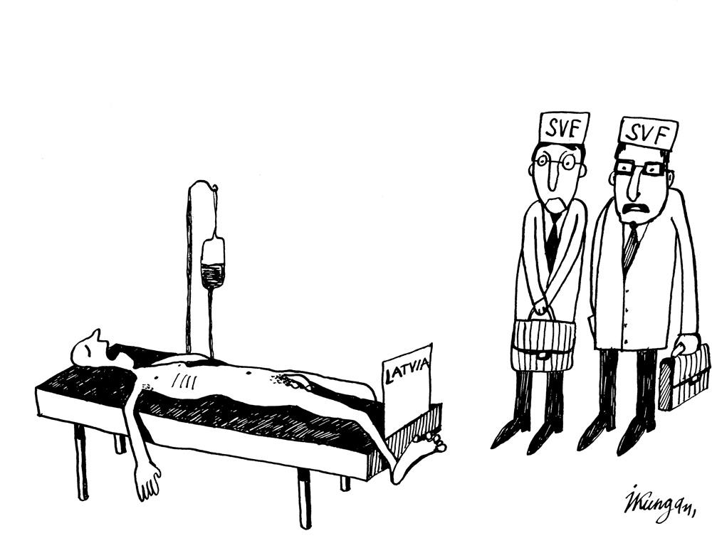 28-01-2011-1 – Kur lai vēl šis pacients ņem naudu? – Gan jau atradīs!