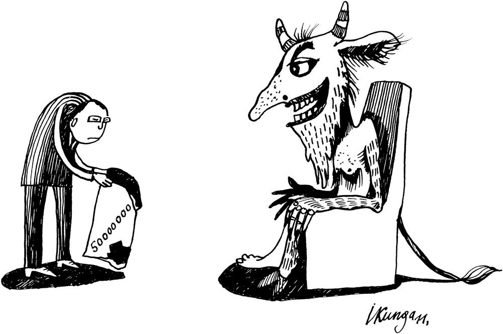 28-01-2011-2 Lai konsolidētu valsts budžetu ir pat jāsadarbojas ar velnu.