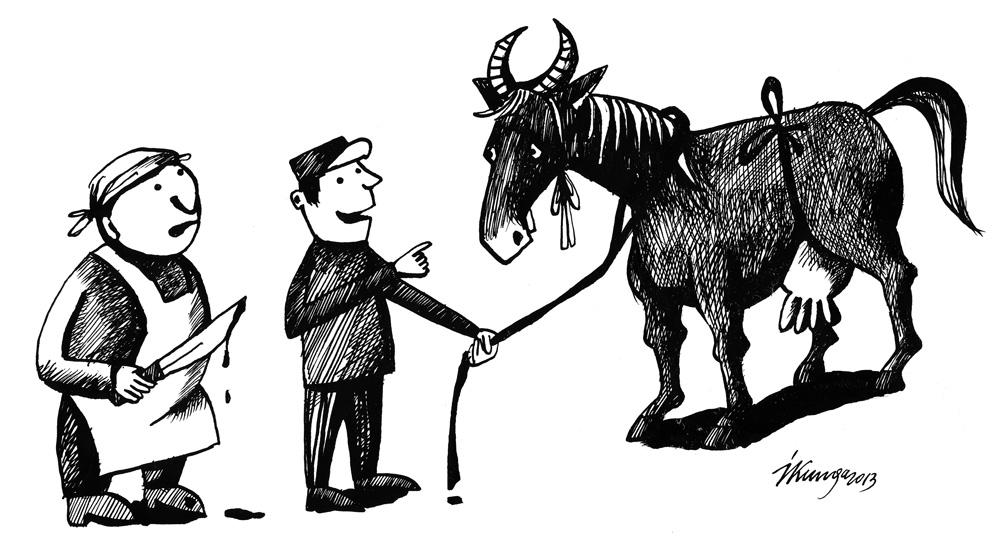 28-02-2013 - Pavadzīmē reģistrēta kā govs!