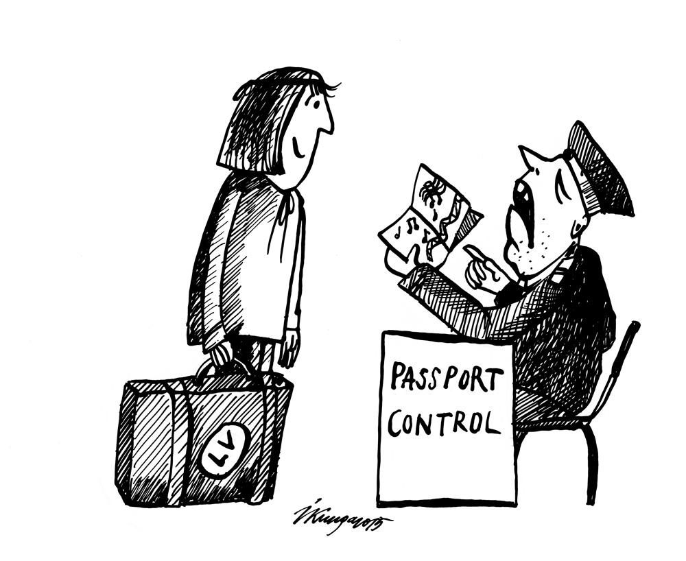 29-01-2015 Latvijai jaunas pases. - dodiet man pasi, ar nošu grāmatu es te neko iesākt nevaru!
