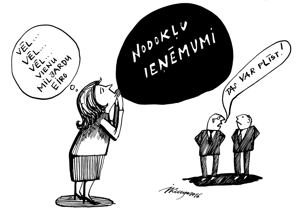 29-02-2016 - Finanšu ministre Dana Reizniece-Ozola skaidri nepasaka, kurus nodokļus grozīs.