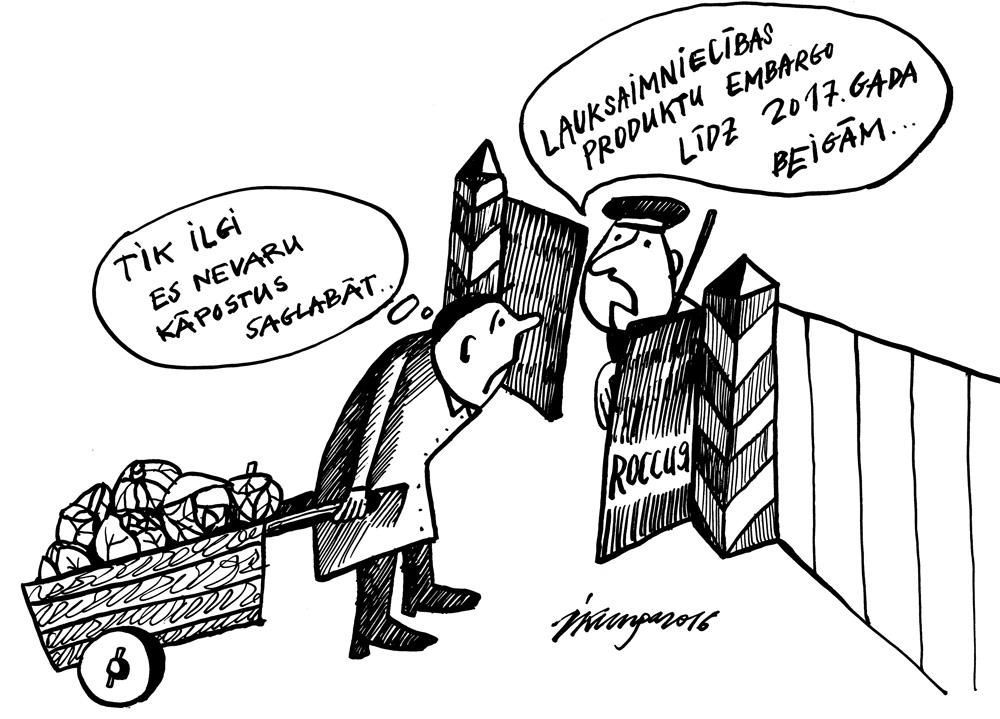 30-06-2016 - Krievija un lauksaimniecības importa embargo