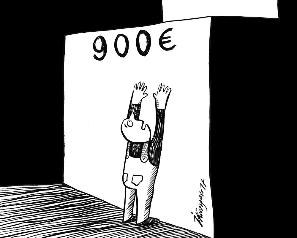 30-08-2017 Vidējā darba alga Latvijā pārsniegusi 900 eiro slieksni, daudziem tas ir nesasniedzams sapnis.