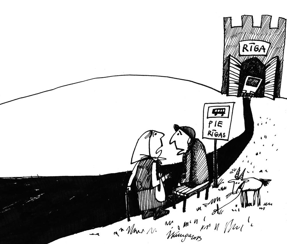 30-09-2013 — Nu Rīgu mums vairs neredzēt, tur par biļetēm sabiedriskajā transportā lauciniekiem būšot jāmaksā dubultā!