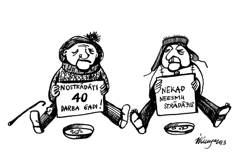 31-01-2013 Nākotnes pensionāri. - Atrodi atšķirības!