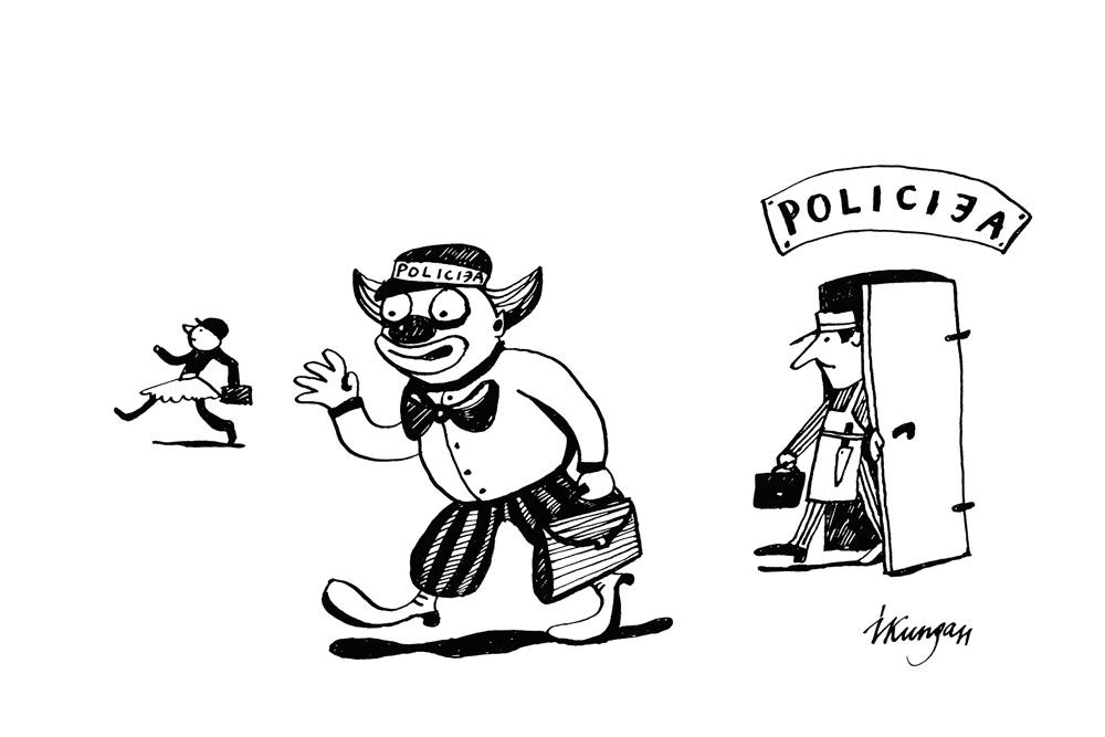 7-02-2011 Latvijas policista otrās darba dienas sākums pēc pirmās darba dienas.