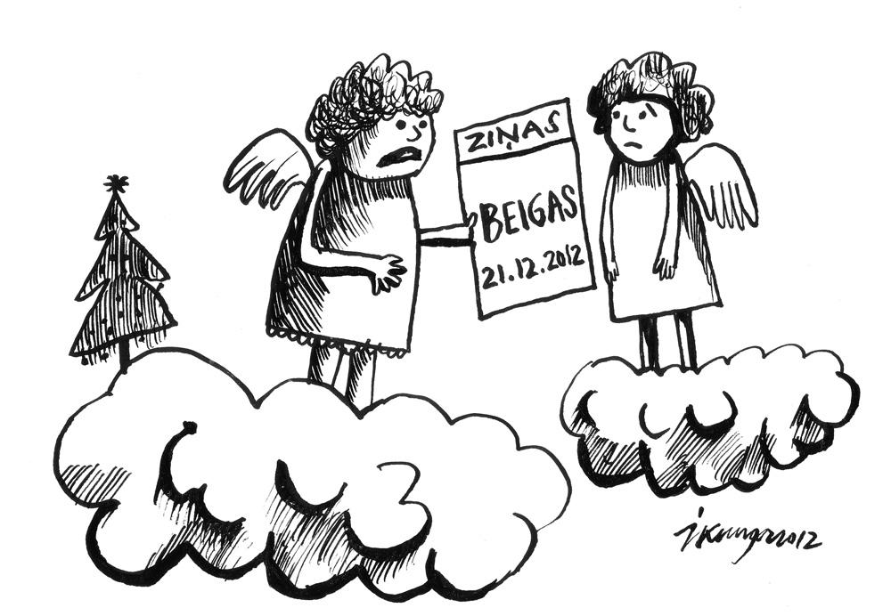 19-12-2012 - paklau, sliktas ziņas, Jēzus dzimšanas dienas svinības šogad nebūs!