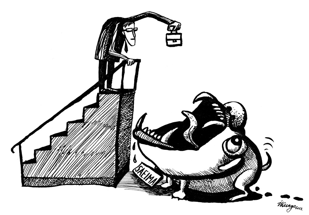 01-10-2012 Finanšu ministrs Saeimai svinīgi nodod nākamā gada budžetu — saplosīšanai! Gaidām iznākumu.