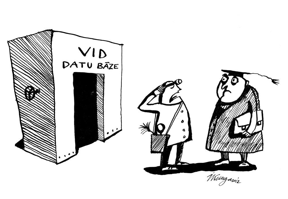 10-09-2012 — Pēc divu gadu konstruktīvas un precīzas analīzes ziņoju, ka Neo nav varējis ielauzties VID datu bāzē, jo tur vispār nebija slēgtu durvju.