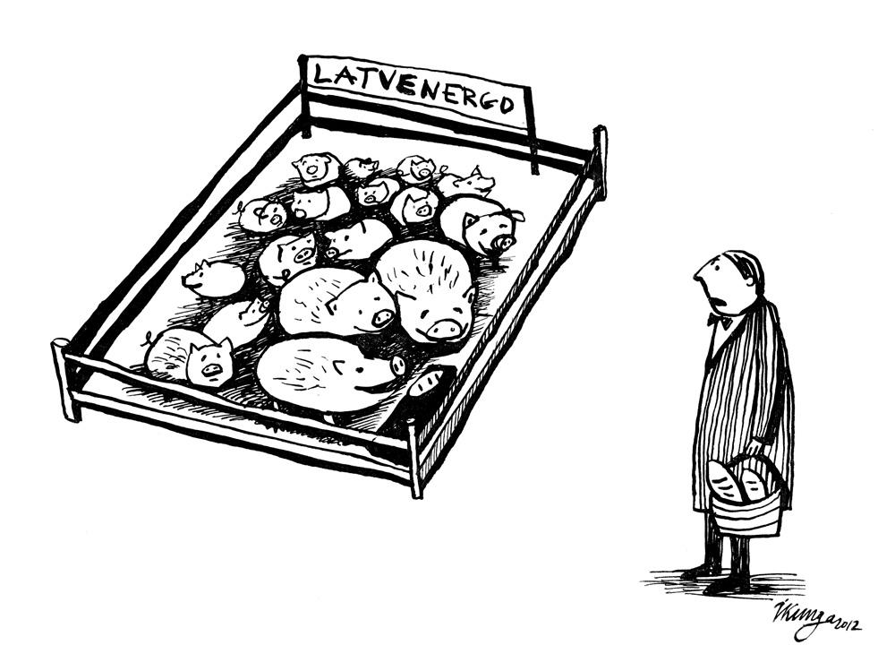 12-09-2012 — Šīs cūciņas kukuļos jau apēdušas gandrīz 8 miljonus eiro!
