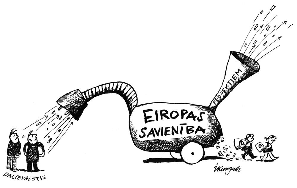 12-11-2012 — Eiropas Savienības budžetam ir neliela finansiāla noplūde, uzturot fiktīvus projektus.