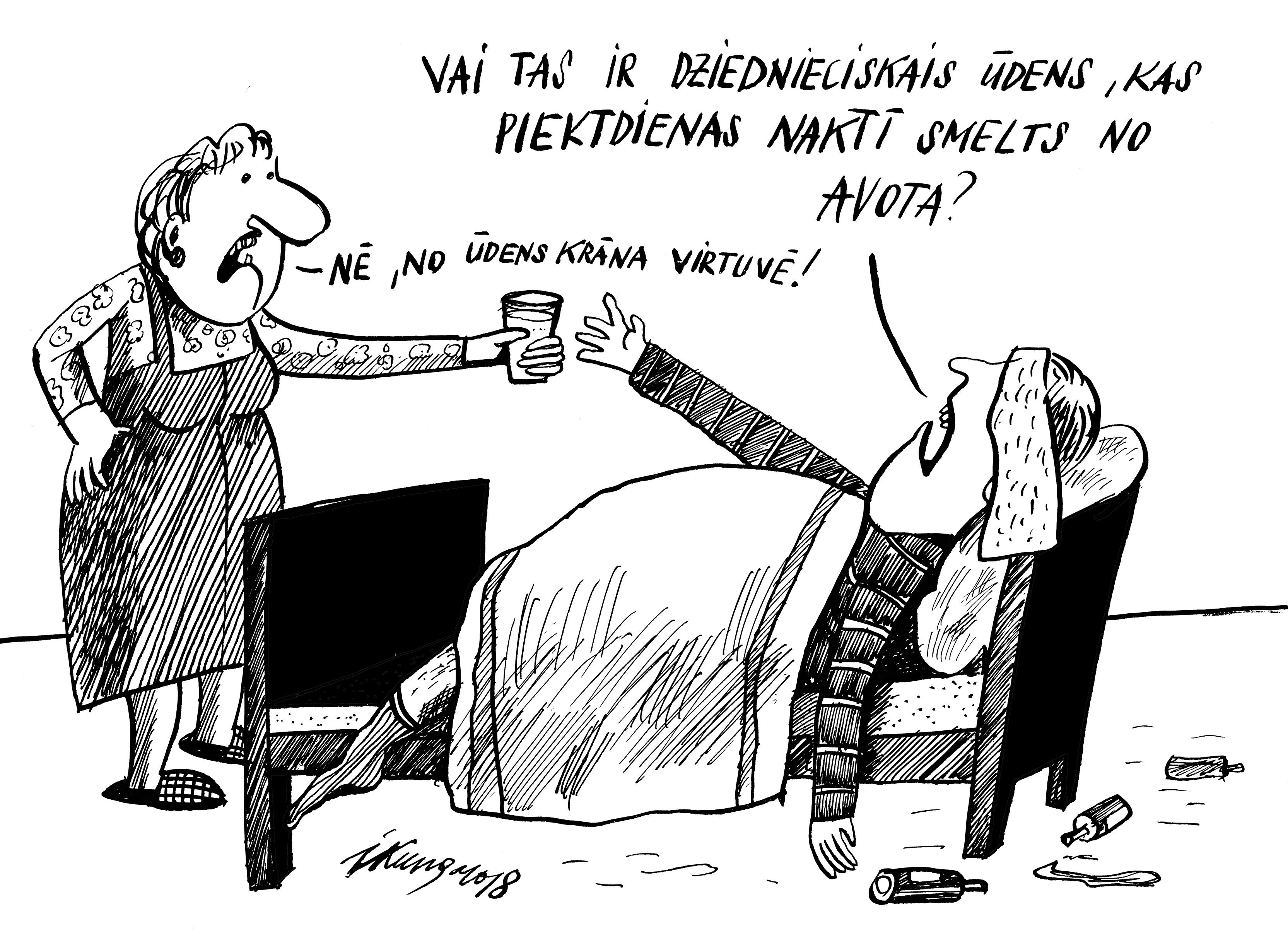 Karikatura_18-01-2018 Piektdienas brīnumūdens.
