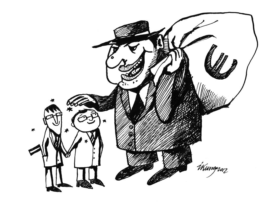 21-11-2012 Starptautiskie aizdevēji: — Malači, latvieši, paklausīgi!
