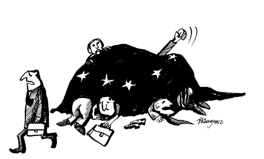 26-11-2012 — Jābrauc tik mājās, Eiropa arī nevar vienoties par kopīgu politiku.