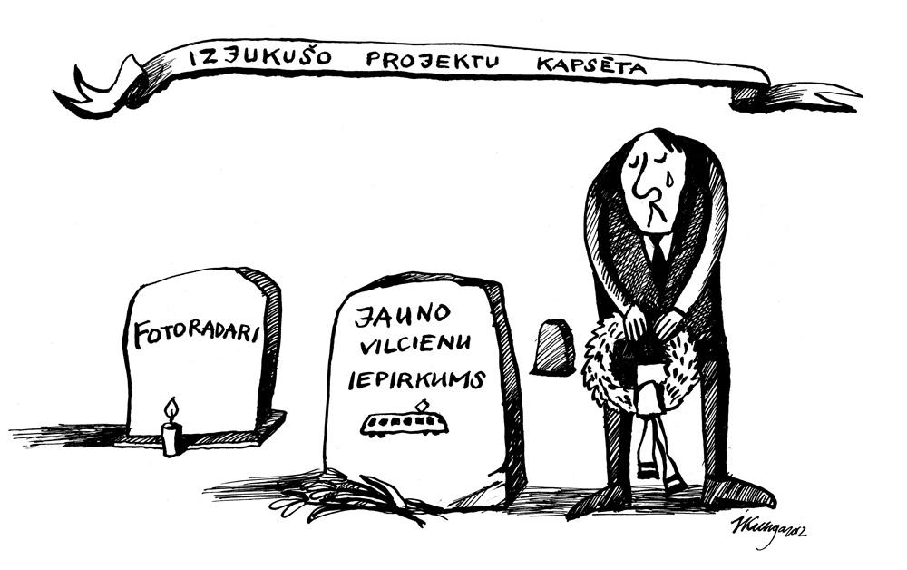 03-10-2012 — Žēl, ka šīs nedēļas laikā ir mūs pametuši divi lieli valsts projekti.