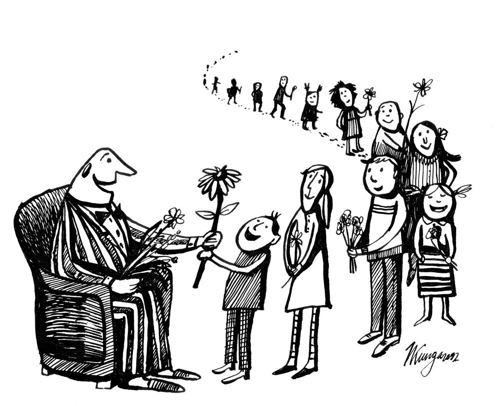 06-09-2012 Svētdien Tēvu diena. Tēvs: - Es nemaz nezināju man tik daudz bērnu