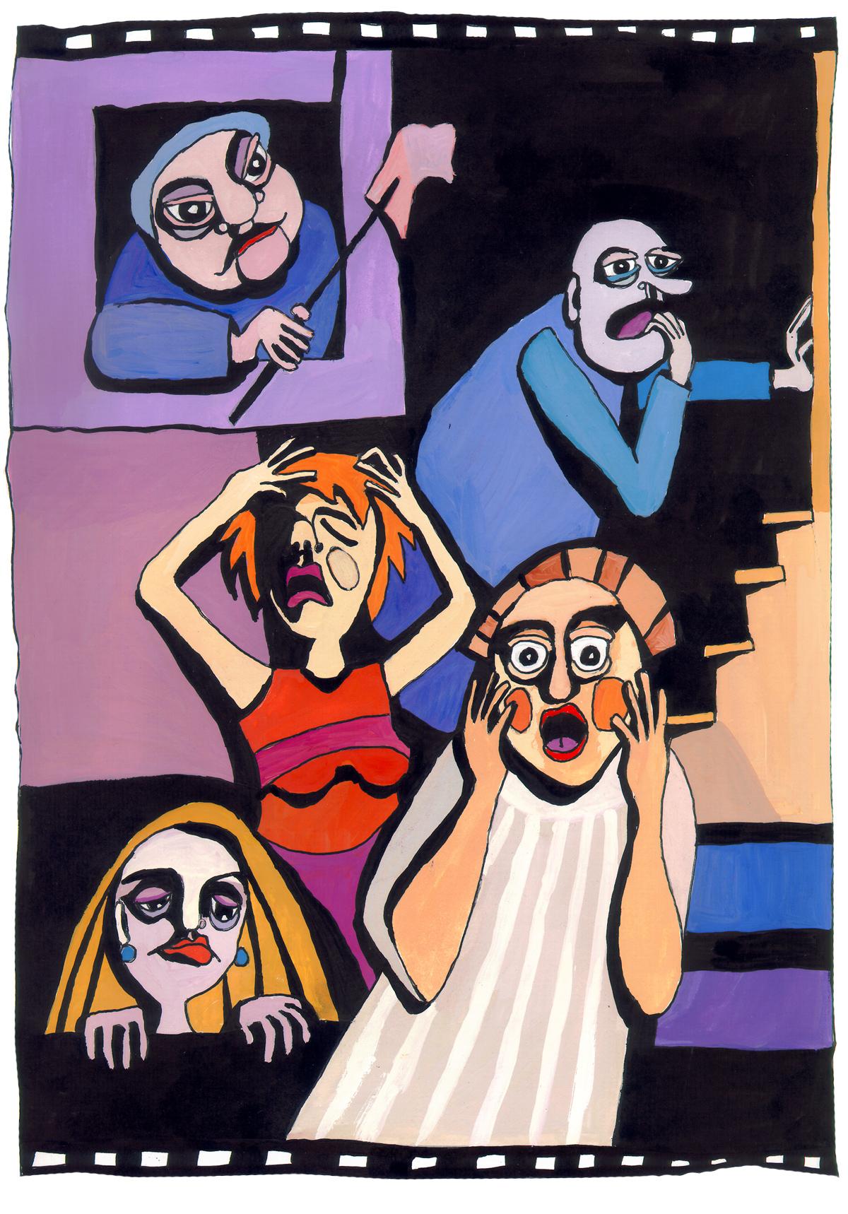 5 Emotionen. 5 emocijas. Ieva Kunga. 2003
