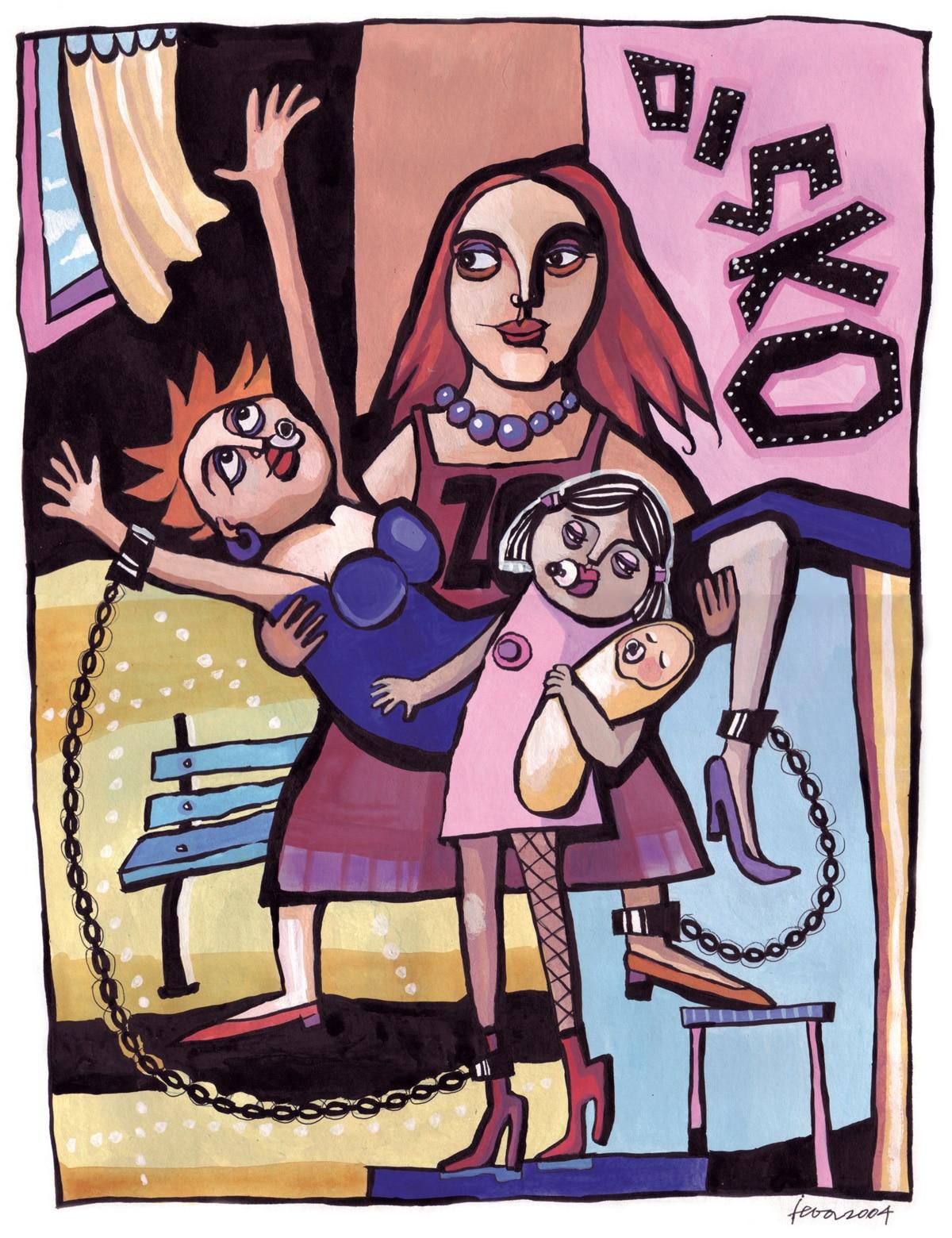 Unreife Mütter. Nepieaugušās mātes. Ieva Kunga 2004