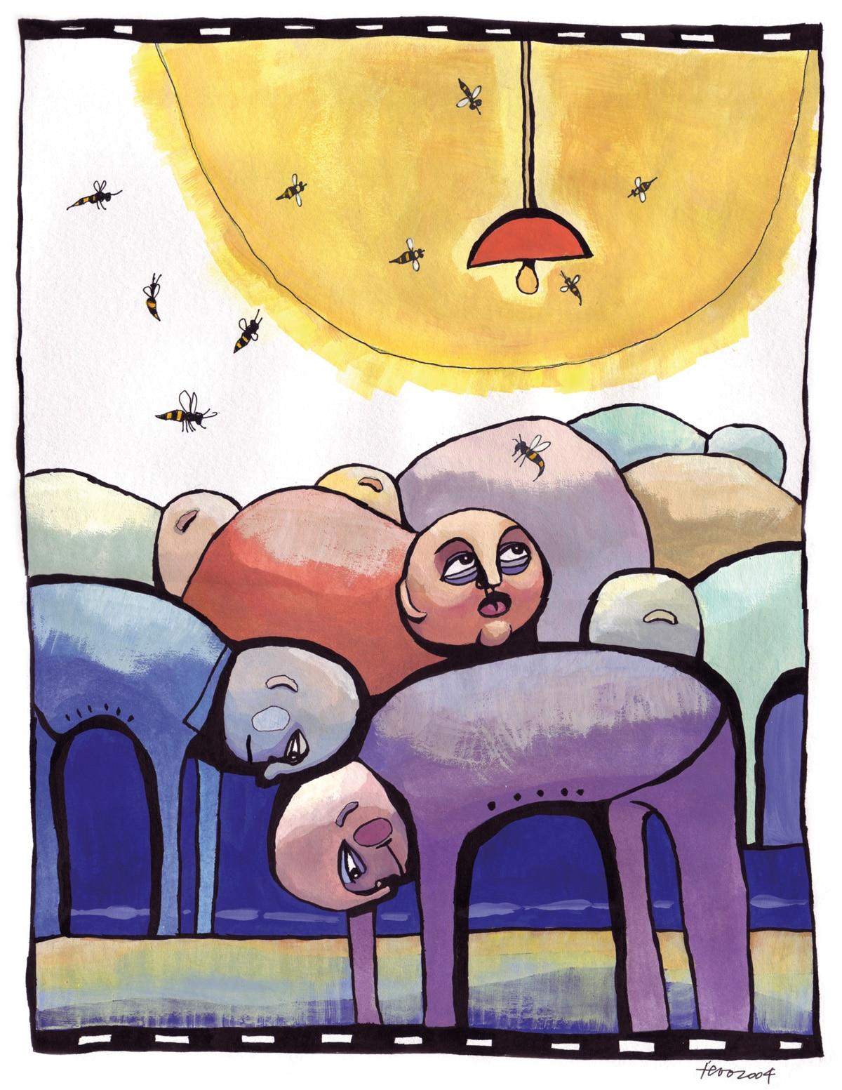 Sommer 2004 - Wespen. Vasara 2004 - lapsenes. Ieva Kunga. 2004