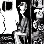 Fernsehgucker / TV Vērotājs. Ieva Kunga. 2003