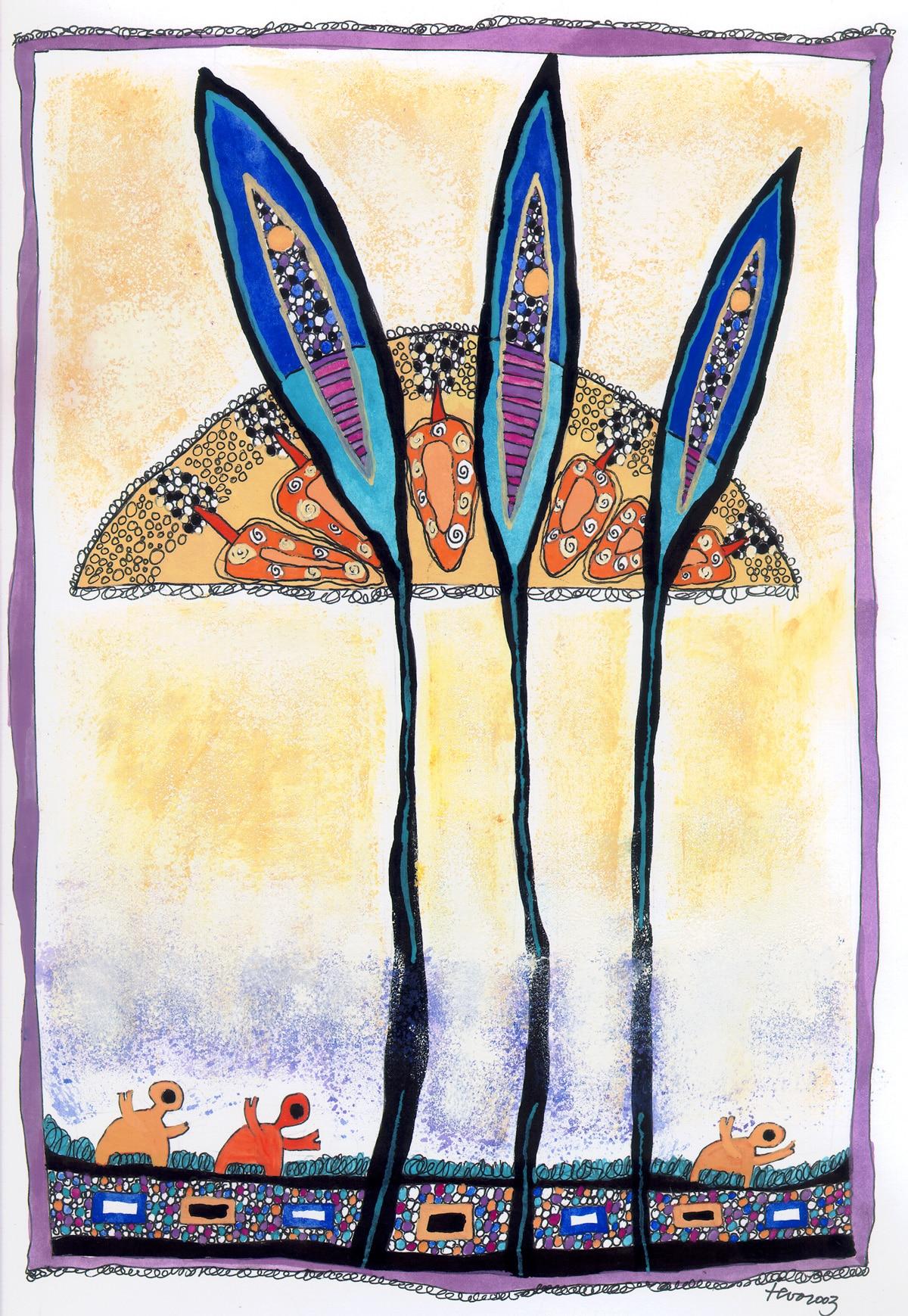 Sonne I. Ieva Kunga. 2003