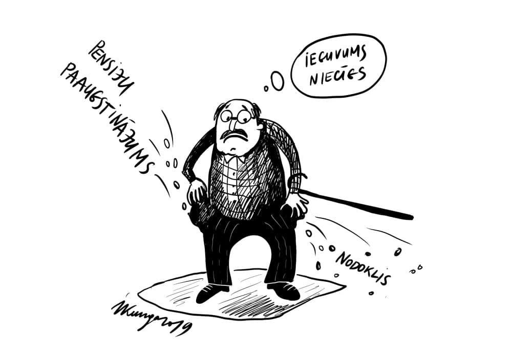 Karikatura_26-09-2019-No 1. oktobra pensiju indeksācija.