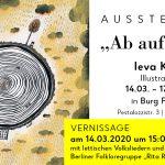 Ieva Kunga Ausstellung in Burg Friedland