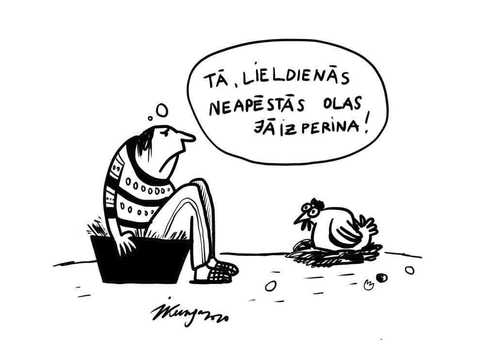 Karikatura_09-04-2020 / Lieldienas