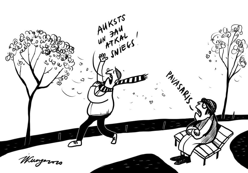 Karikatura_15-04-2020 / Pavasaris