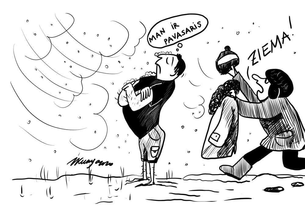 Karikatura_11-05-2020 / Ziema pavasarī