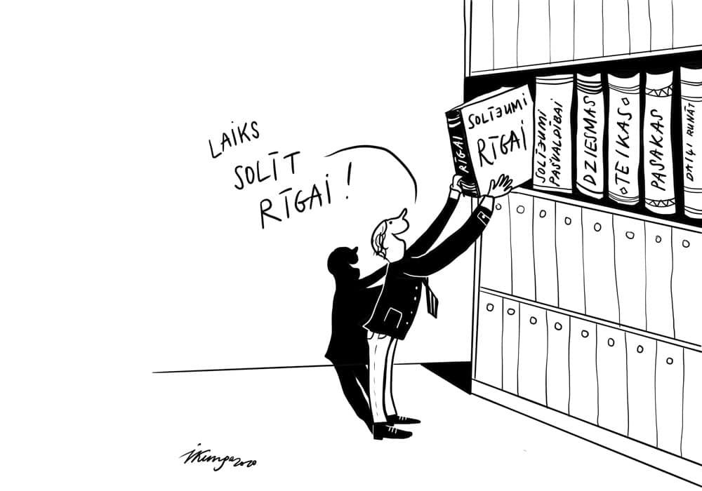 Tuvojas Rīgas domes vēlēšanas.
