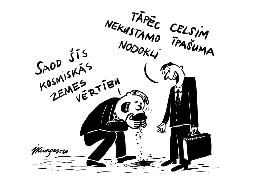 Karikatura_19-08-2020 - Zemes nodoklis