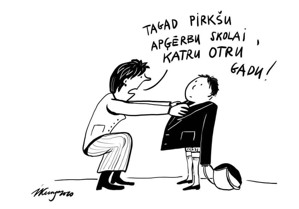 Karikatura_24-08-2020 - Gatavojas skolai
