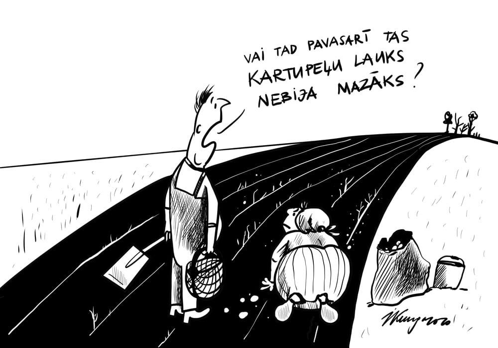 Karikatura_26-08-2020 - Kartupeļu laiks.
