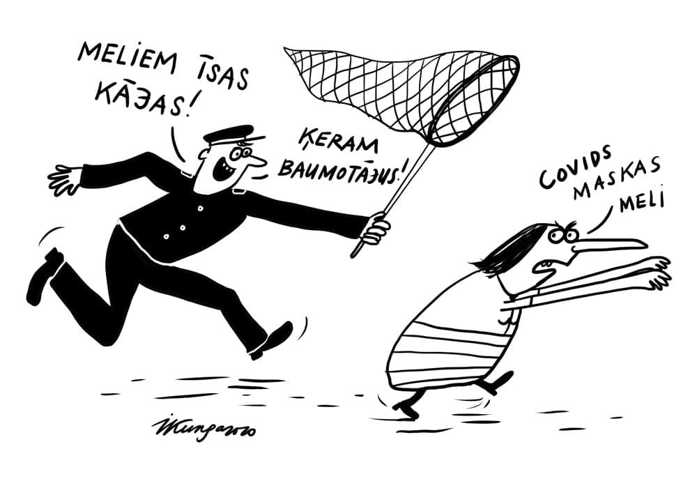 Karikatura_10-12-2020 - Sāk cīņu ar viltus ziņu izplatītājiem.